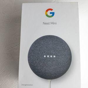 Google | nest mini (2nd generation) w/ assistance